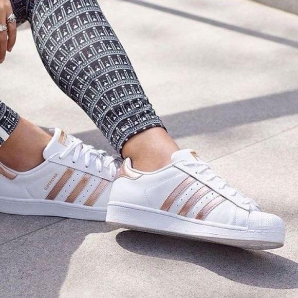 adidas originals superstar rose gold cheap online